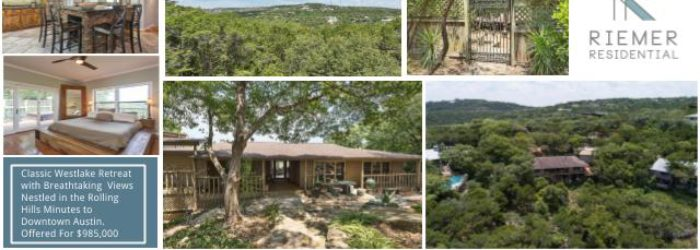 For Sale: 820 Terrace Mountain, West Lake Hills, Texas 78746